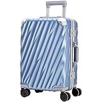 Moriou スーツケース キャリーケース 機内持ち込みサイズから TSAロック アルミフレーム PC+ABS 半鏡面仕上げ 8輪 ダブルキャスター 静音 軽量