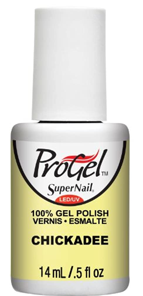 墓レンダリング気体のSuperNail ProGel Gel Polish - Chickadee - 0.5oz/14ml