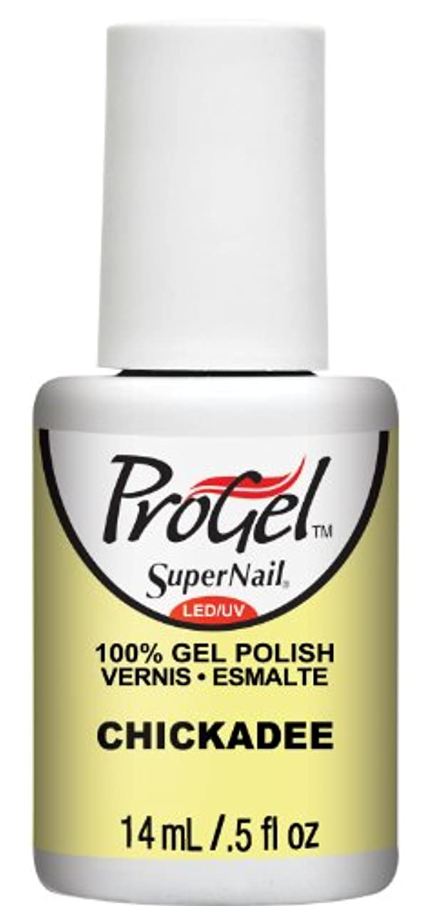 素晴らしさ教育ネクタイSuperNail ProGel Gel Polish - Chickadee - 0.5oz/14ml