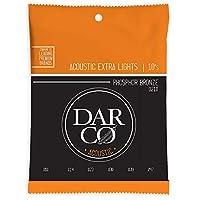Darco D210 Acoustic Phospher Bronze Extra Light アコースティックギター弦×3セット