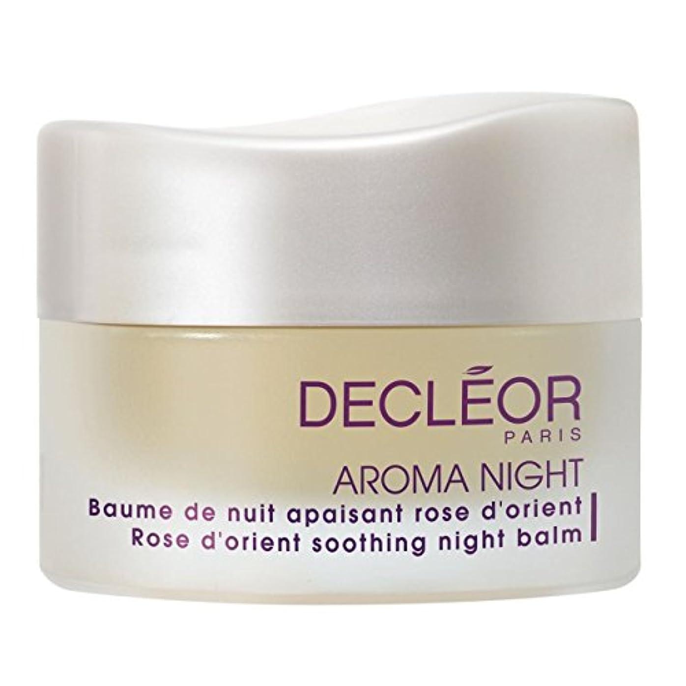 ふりをする口鉄[Decl?or] デクレオールアロマエッセンスは、オリエントナイトバーム15ミリリットルをバラ - Decl?or Aromessence Rose D'Orient Night Balm 15ml [並行輸入品]