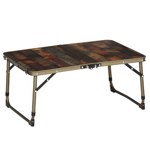 RoomClip商品情報 - [クイックキャンプ] アウトドア 折りたたみ ミニテーブル 60×40cm 収納袋付き ヴィンテージライン