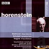 ベートーヴェン:荘厳ミサ曲/シューベルト:交響曲第8番「未完成」(BBC響/ホーレンシュタイン)(1961-1972)
