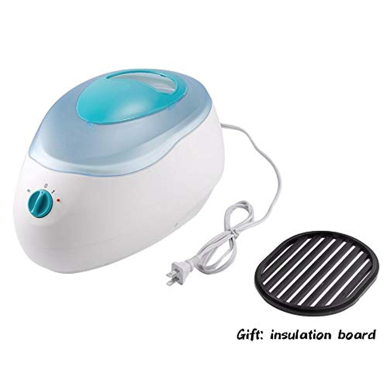 信者カバー放散するワックスヒーター機200ワットパラフィンヒーター療法浴室ワックスポットヒーター美容院スパ2レベル制御機用スキンケアツール