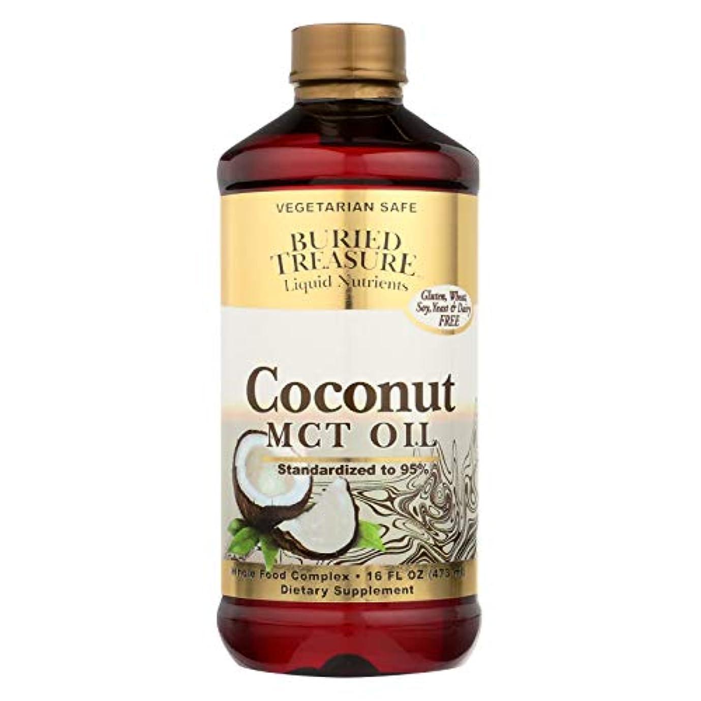 ハントゴネリル開いた海外直送品Coconut Oil MCT, 16 oz by Buried Treasure