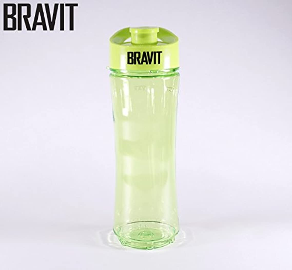 貫入爬虫類切り刻むBRAVIT Personal Sports Bottle, Smoothie, Shake Maker with Travel Lead for BRAVIT Personal Sports Blender by BRAVIT