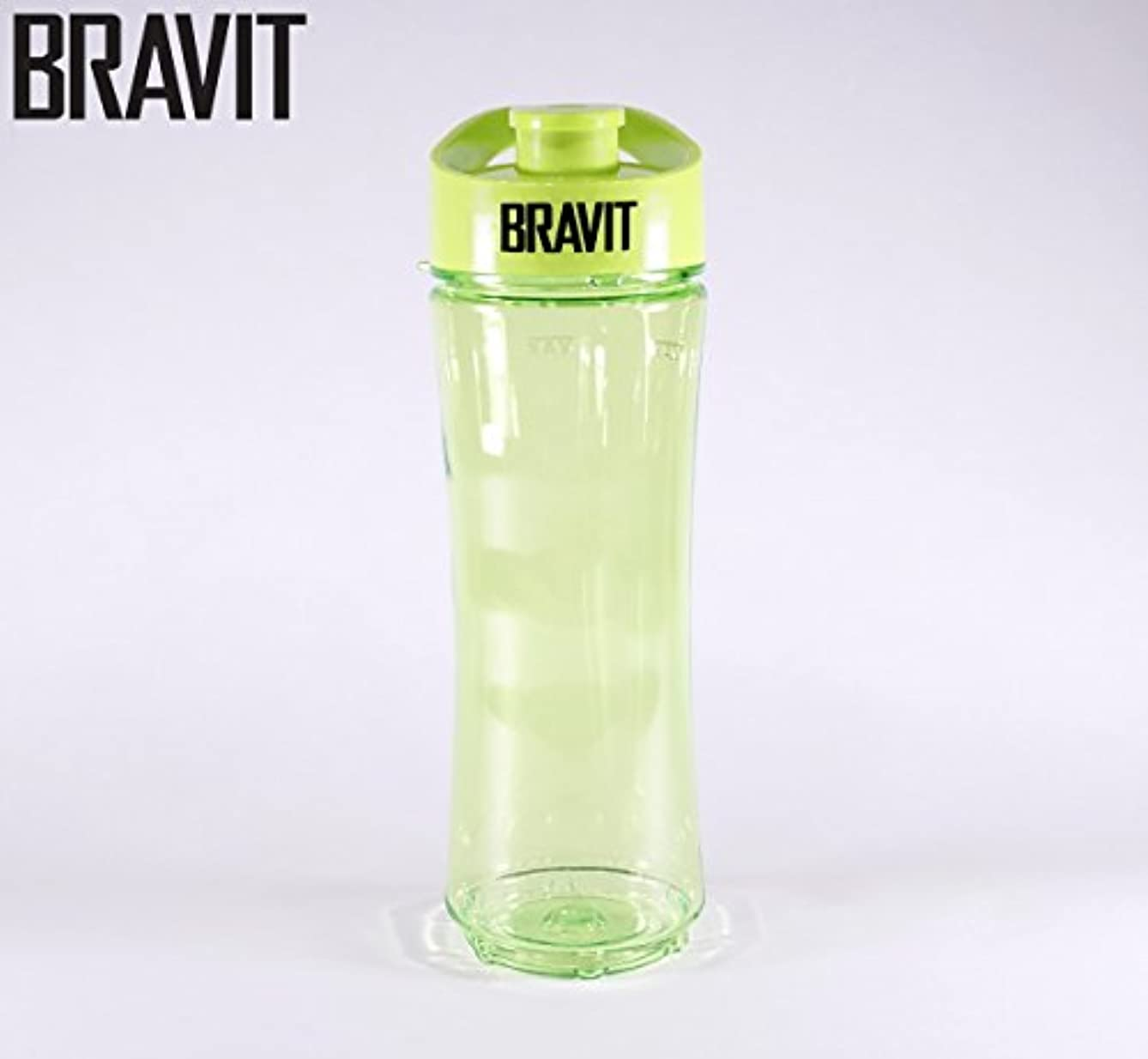 申請者小康含むBRAVIT Personal Sports Bottle, Smoothie, Shake Maker with Travel Lead for BRAVIT Personal Sports Blender by BRAVIT