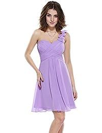 444ab7eea1c90 Amazon.co.jp  パープル - ワンピース・チュニック   ワンピース・ドレス ...