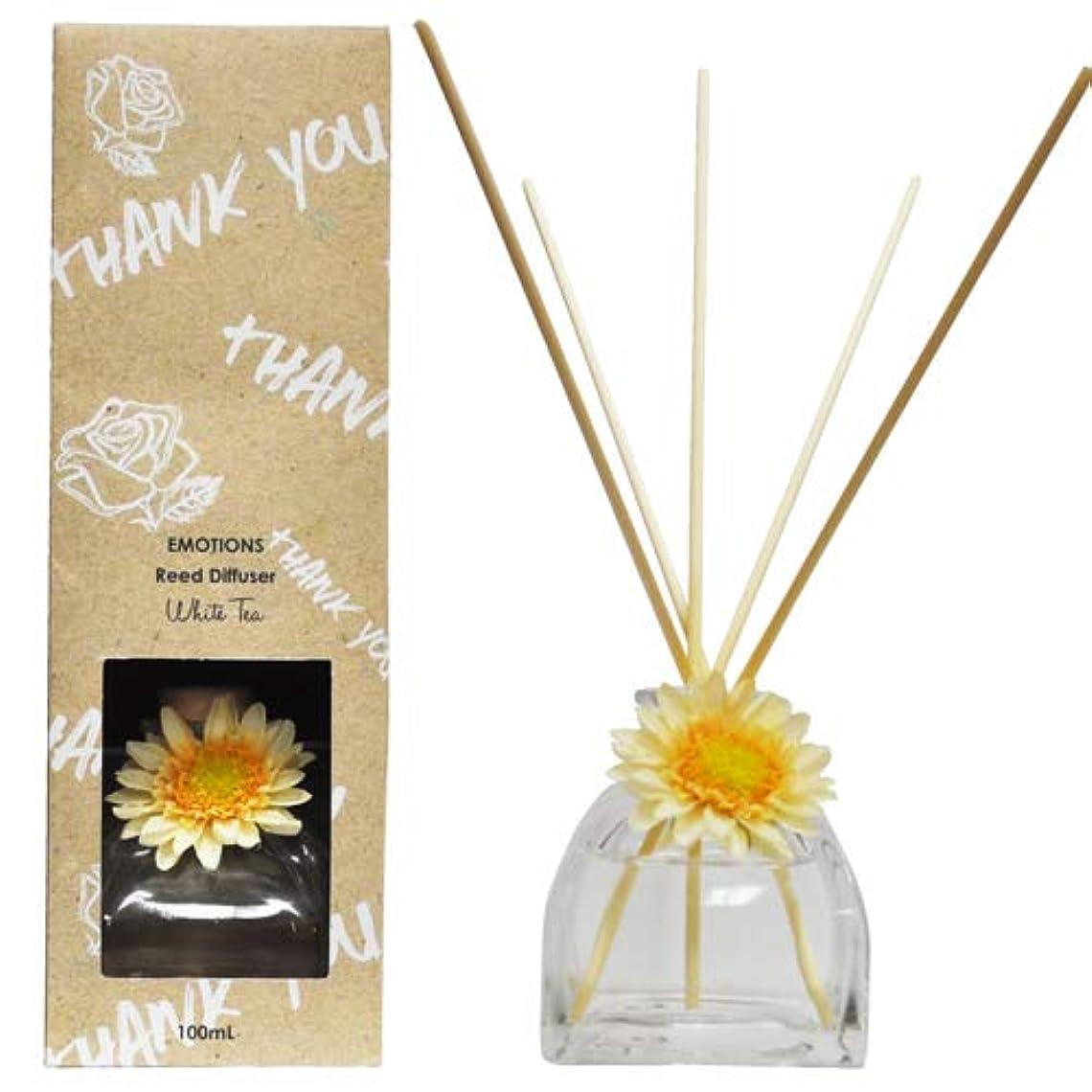 EMOTIONS エモーション Fibre Reed Diffuser リードディフューザー Thank You サンキュー(White Tea ホワイトティ)