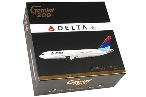 """1:200 ジェミニジェット 200 G2DAL138 ボーイング 767-200 ダイキャスト モデル デルタ Air Lines N101DA """"Colors in Motion""""【並行輸入品】"""