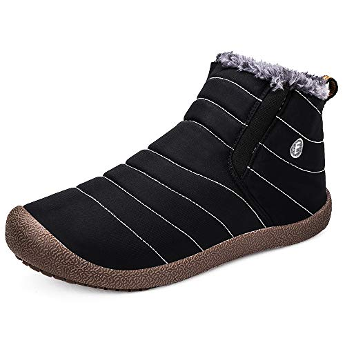 [zb08] スノーブーツ メンズ レディース 防寒靴 スノーシューズ 防滑 アウトドアシューズ ウィンターブーツ 綿雪靴