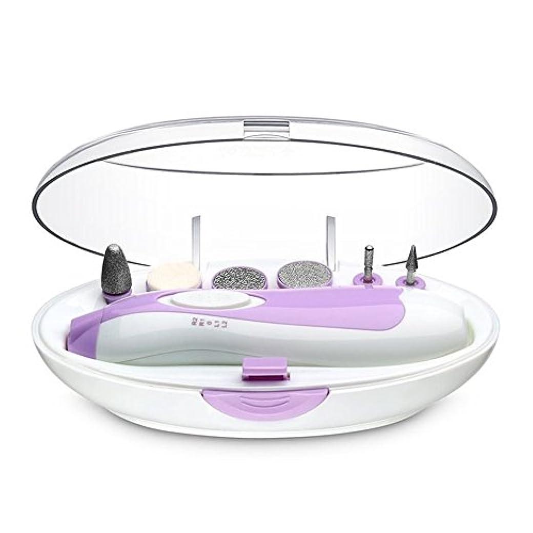 チップセマフォスカート1stモール アタッチメント6種類付き 角質ケア 電動ネイルケア セット爪やすり 爪磨き ネイル道具 ST-AE-831