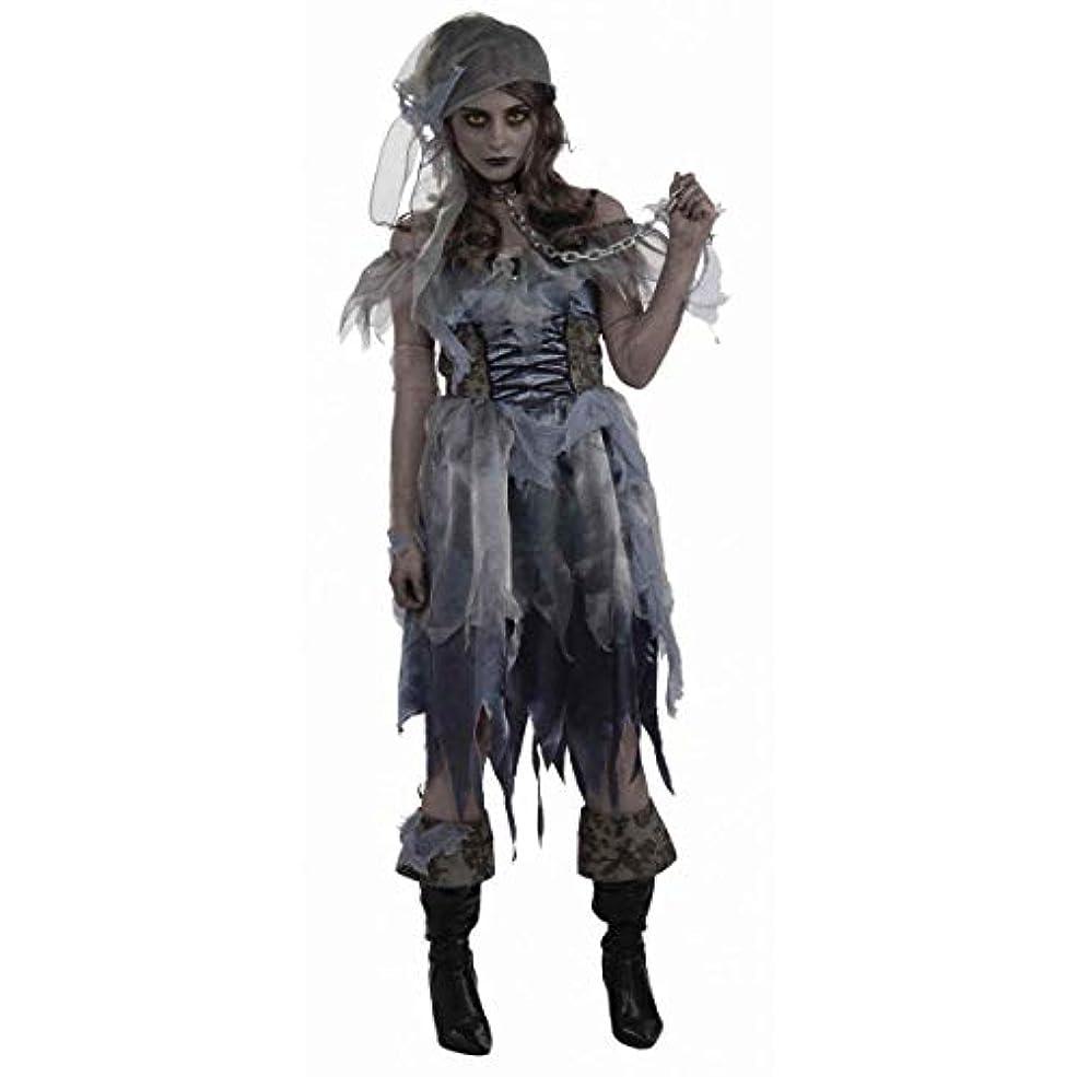 市の中心部人差し指不倫Bristol Novelty Grey Zombie Pirate Lady Adult Costumes - Women's - One Size