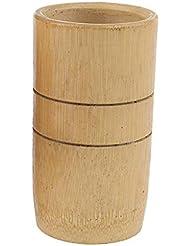 sharprepublic マッサージ吸い玉 カッピングカップ 天然竹製 サロン 家庭用 2個入