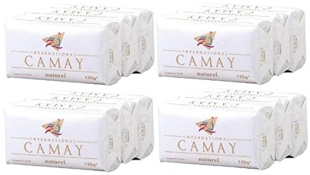 椅子記念日レモン【CAMAY】キャメイ石鹸ナチュラル3個入×4パック [並行輸入品]