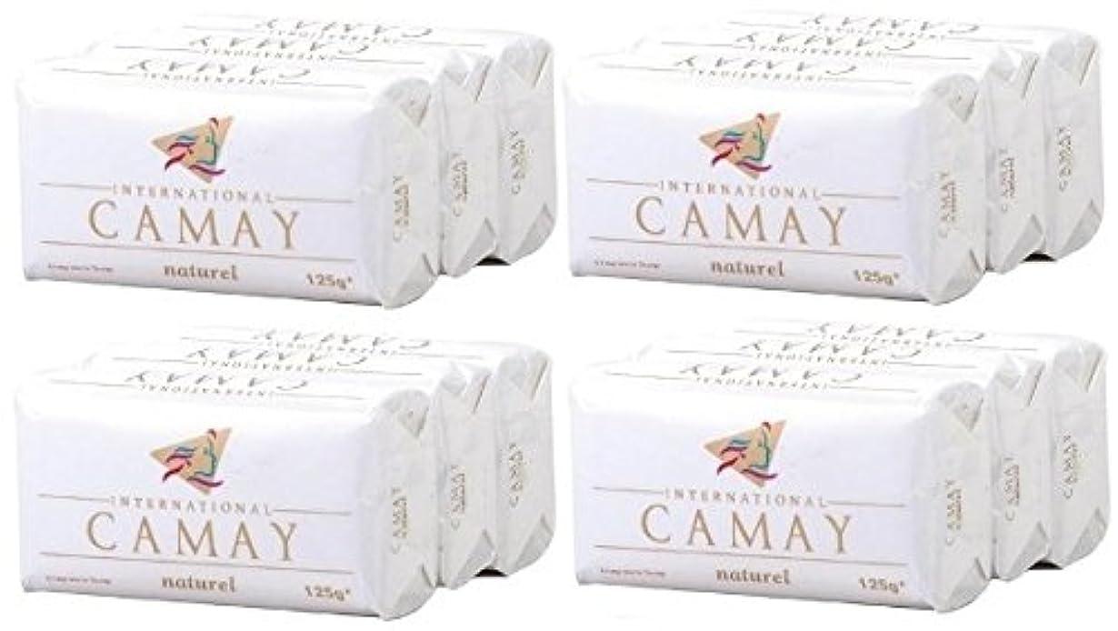 ジョットディボンドン対抗高度な【CAMAY】キャメイ石鹸ナチュラル3個入×4パック [並行輸入品]