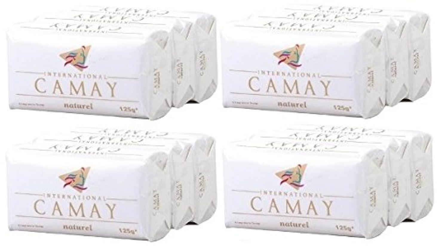 直感かび臭い約設定【CAMAY】キャメイ石鹸ナチュラル3個入×4パック [並行輸入品]