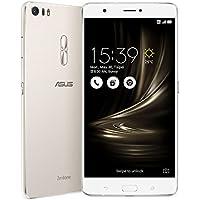 ASUS ASUS ZenFone3 Ultra Dual SIM ZU680KL 64GB Glacier Silver 【海外版 SIMフリー】