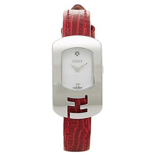 (フェンディ) FENDI フェンディ 時計 FENDI F300024073D1 カメレオン レディース腕時計ウォッチ ホワイト/シルバー/レッド [並行輸入品]