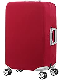 7558de80b5 スーツケースカバー キャリーカバー ラゲッジカバー 無地伸縮素材