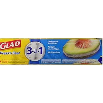 Glad ラップ 43.4m×3 プレスアンドシール 多用途フード保存ラップ