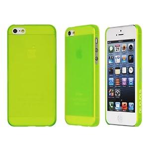 Taranto iPhone5C対応ケース Slim GRN グリーン ポリカーボネート素材 TR-A0555-GRN