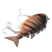SM SunniMix 全8色 バス釣り 釣りベイト フィッシングツール バイオニック餌 釣り餌 人工餌 - C