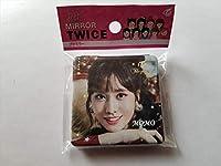 韓国 K-POP ☆TWICE トゥワイス MOMO モモ☆ ハンドミラー 鏡 ミラー コンパクト D-263