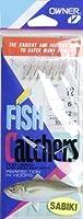 オーナーSabikiサバ魚皮ベイトキャッチャー - 6フック - サイズ12