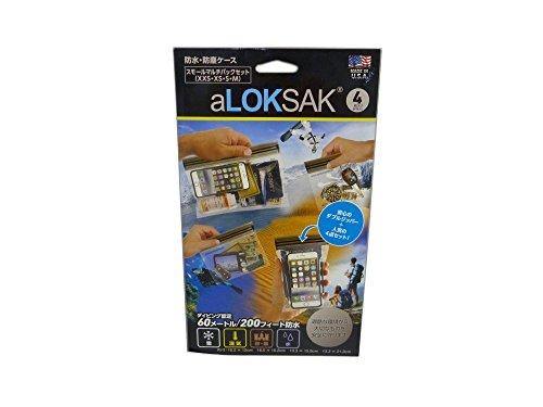 ロックサック スモールマルチパック(XXS-M各1枚) ALOKD4-SMP