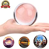 K9 天然石水晶玉 80mm ガラス玉 クリスタルボール レンズボール 無色透明水晶玉撮影用