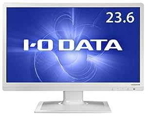 アイ・オー・データ機器 ブルーライト低減機能付き 23.6型ワイド液晶ディスプレイ ホワイト LCD-AD242EW