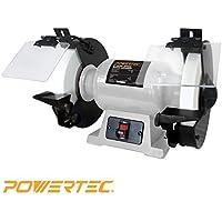 POWERTEC BGSS801 Slow Speed Bench Grinder 8 [並行輸入品]