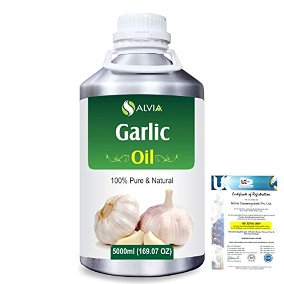 心理学本部ブラザーGarlic (Allium Sativum) 100% Pure Natural Essential Oil 5000ml/169 fl.oz.