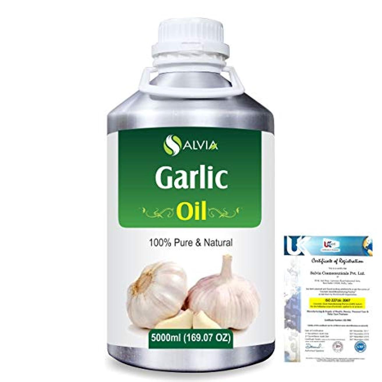 恐竜ライブ付与Garlic (Allium Sativum) 100% Pure Natural Essential Oil 5000ml/169 fl.oz.