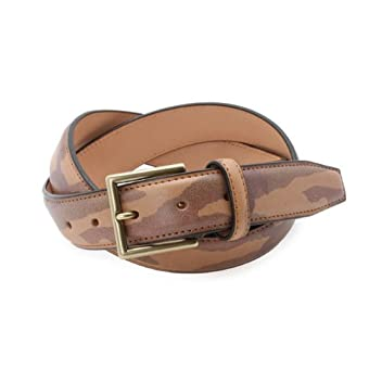 Camouflage Belt 387-04505: Brown
