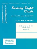 Seventy-eight Duets for Flute and Clarinet: Advanced: Nos. 56 to 78