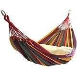 ブーム◆ハンモック2人用◆レッド◆癒し睡眠に効果!野外・部屋