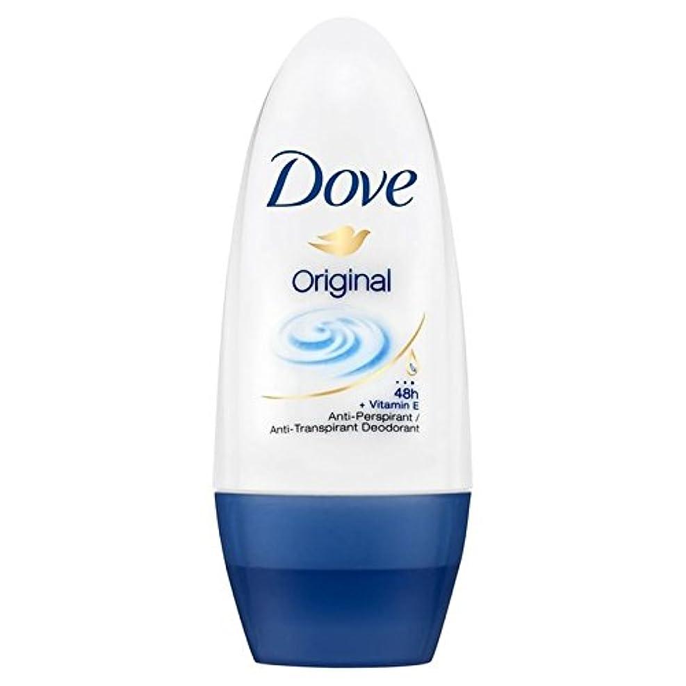 Dove Original Roll-On Anti-Perspirant Deodorant 50ml - 鳩のオリジナルロールオン制汗デオドラント50ミリリットル [並行輸入品]