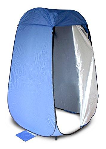 ワンタッチルーム テント 縦型 ブルー NBBOR-BL