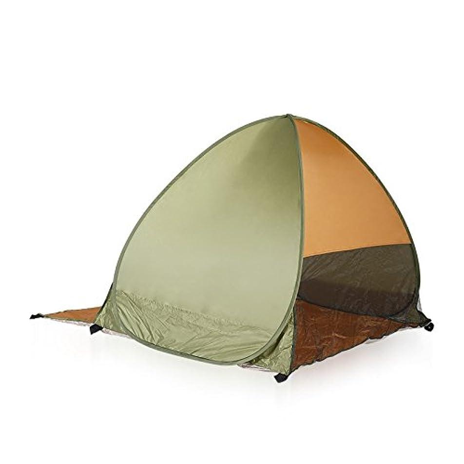 賢明な側きらめくFeelyer 2人用屋外オートキャンプテント防水、雨防止、UV耐性、高速キャンプ、持ち運びが容易、広いスペース、高級オックスフォード布 顧客に愛されて