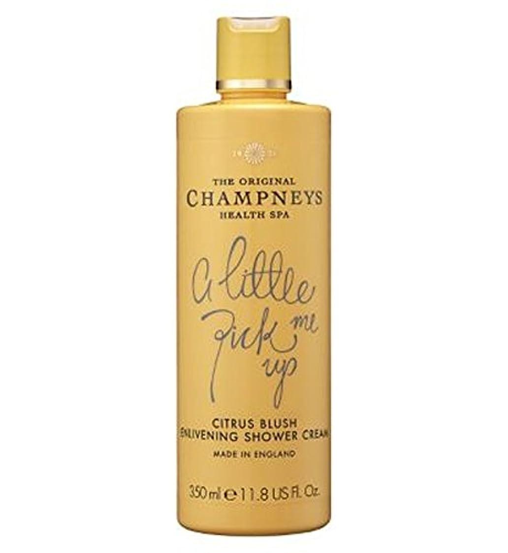 聴く酸っぱいストラップチャンプニーズシトラス赤面盛り上げシャワークリーム350ミリリットル (Champneys) (x2) - Champneys Citrus Blush Enlivening Shower Cream 350ml (Pack...