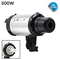 LusanaStudio 500W フォトスタジオフラッシュストロボライト モノライト撮影照明 K-LNA-TEM-F500