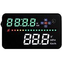 HUDネオトーキョー GPS-03 ヘッドアップディスプレイ シガーソケット スピードメーター 時計表示 3.5インチ 日本語説明書