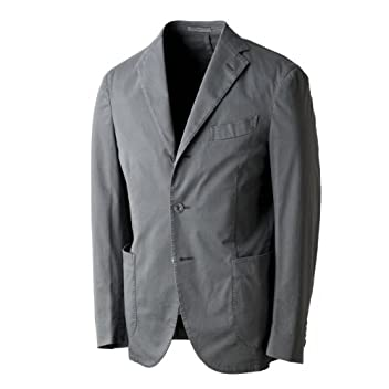 Coat Cotton Stretch: Grey