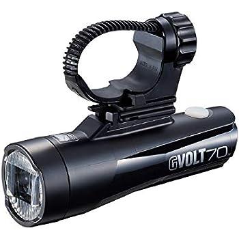 上カット配光 ハンドルバー下側取付専用 USB充電 GVOLT70 HL-EL551RC