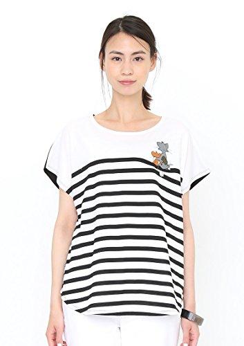 (グラニフ) graniph コラボレーション Tシャツ フレンズ (トムとジェリーボックスティー) (ブラック) Lady(F)
