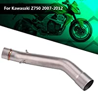 オートバイの排気管、川崎Z750 2007-2012のための排気の中間リンク管