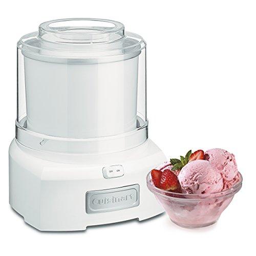 クイジナート アイスクリームメーカー Cuisinart Frozen Yogurt-Ice Cream & Sorbet Maker 【並行輸入品】 (White)