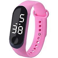 Homyl Kids Watch LED Watch Sport Digital Touch Screen Outdoor Watches Boys Girls Gift Dress Watch